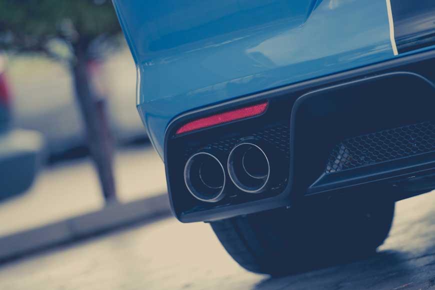 Auton päästömittaus